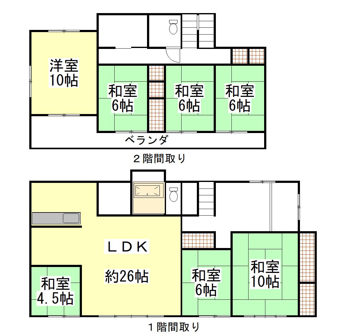 吉田町川尻 7LDK売住宅