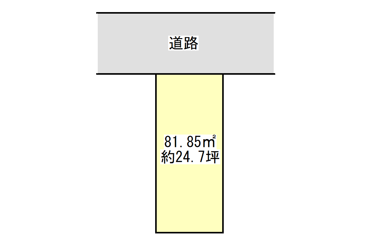 焼津6丁目売地(解体更地渡し)