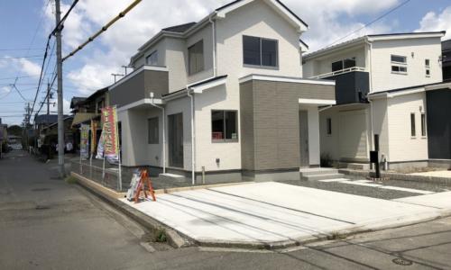 新価格1990万焼津市東小川5期全1棟 角地の新築