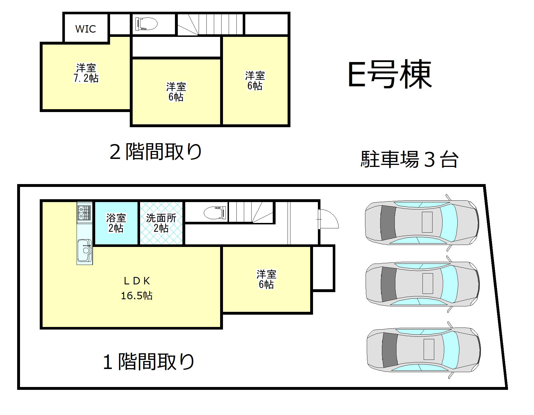 焼津市東小川7丁目 新築建売全2棟 さわやか・TUTAYA近く