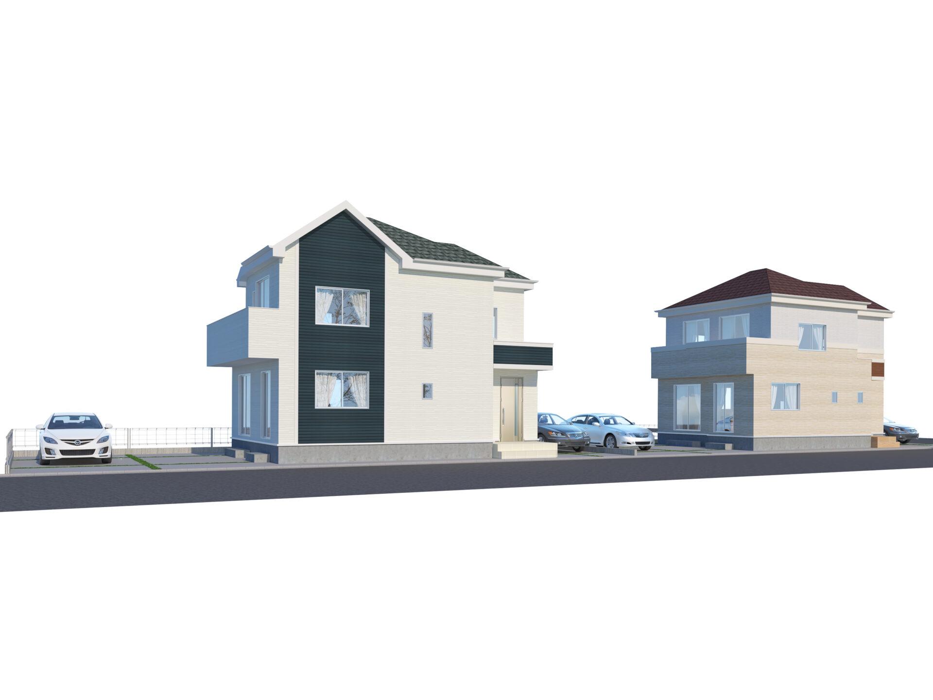 焼津市五ケ堀之内3期 新築分譲住宅 全2棟